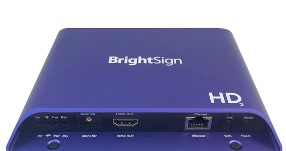BrightSign Media Player Melbourne
