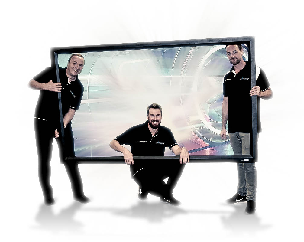 Vision One Team Projection Screen
