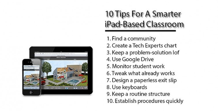10 tips for a smarter iPad-based classroom