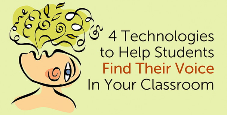 4 ways to use #edtech to give students a voice