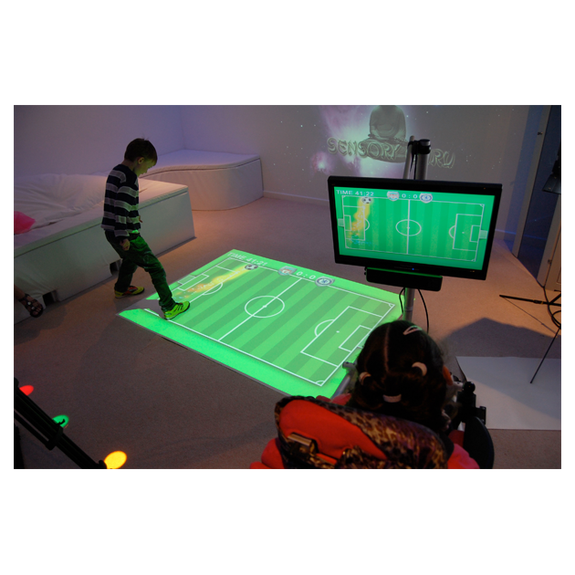 Motion Interactive Floor Projection Wall Projection System