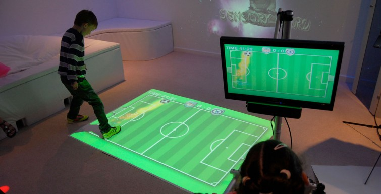 Take it to the Floor! Motion Interactive Floor Projection
