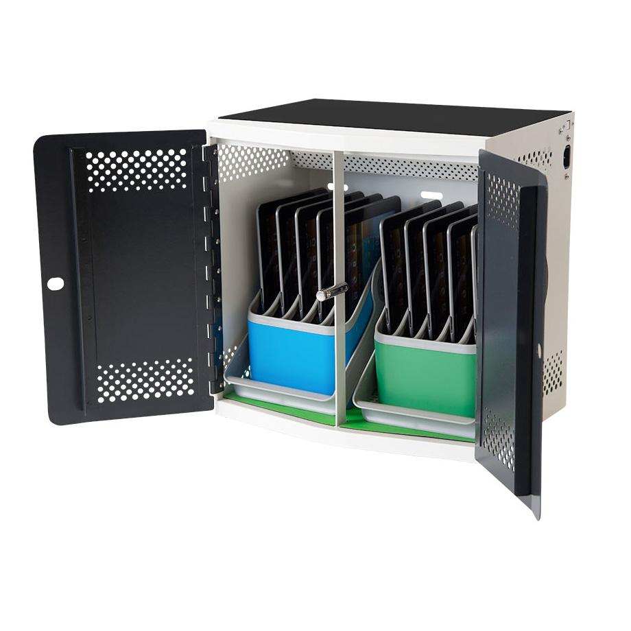 PC Locs IQ 10 IPad Charging Station™ IPad Trolley