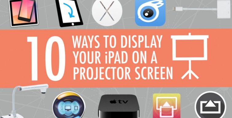 10 Ways to Show Your iPad on a Projector Screen