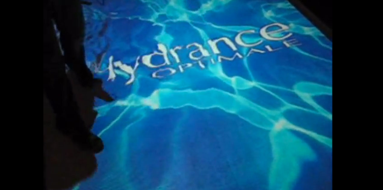 Interactive Floor Projection Water Effect Vision One