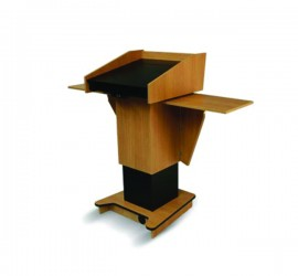Blue Gum Post Style Lectern