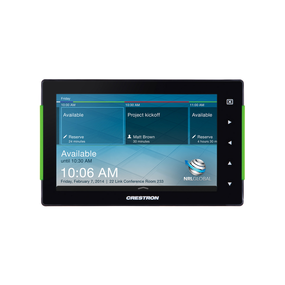 Crestron Tss 752 7 Room Scheduling Touch Screen