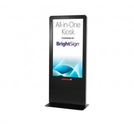 Peerless AV All-in-One Kiosk Powered by BrightSign® Melbourne