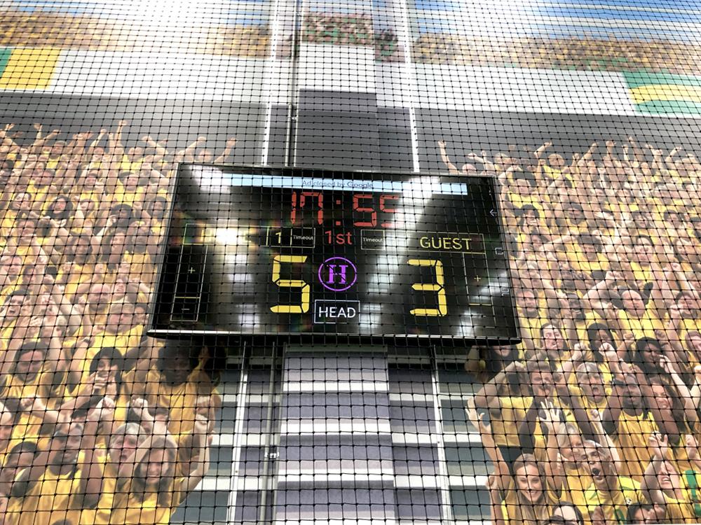 Elite Football Audio Visual Digital Signage LED Video Wall Melbourne