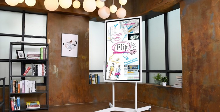 Introducing 'Flip': Samsung's Giant Digital Whiteboard