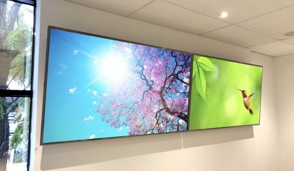 MiTek Boardroom Displays – LG Display Panels