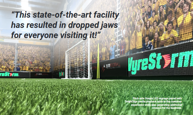 wyrestorm elite football audio visual case study