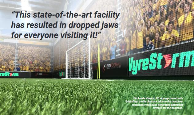wyrestorm elite football audio visual case study