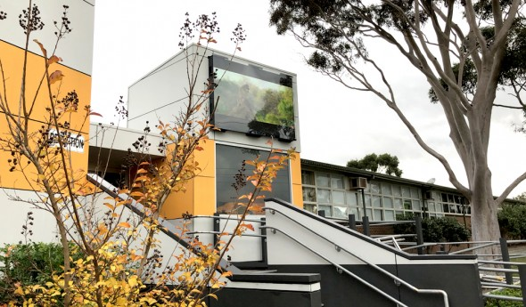 Wooranna Park Primary School – Outdoor LED Video Wall Display