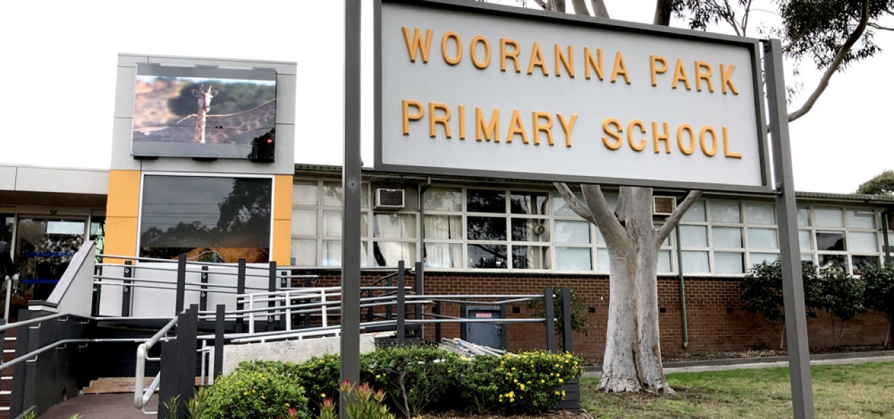 Wooranna Park Primary School Outdoor Led Video Wall