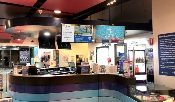 Maribyrnong Aquatic Centre – Digital Signage