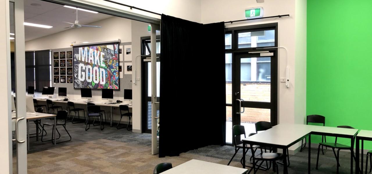 Sandringham College Audio Visual Installations Vision One