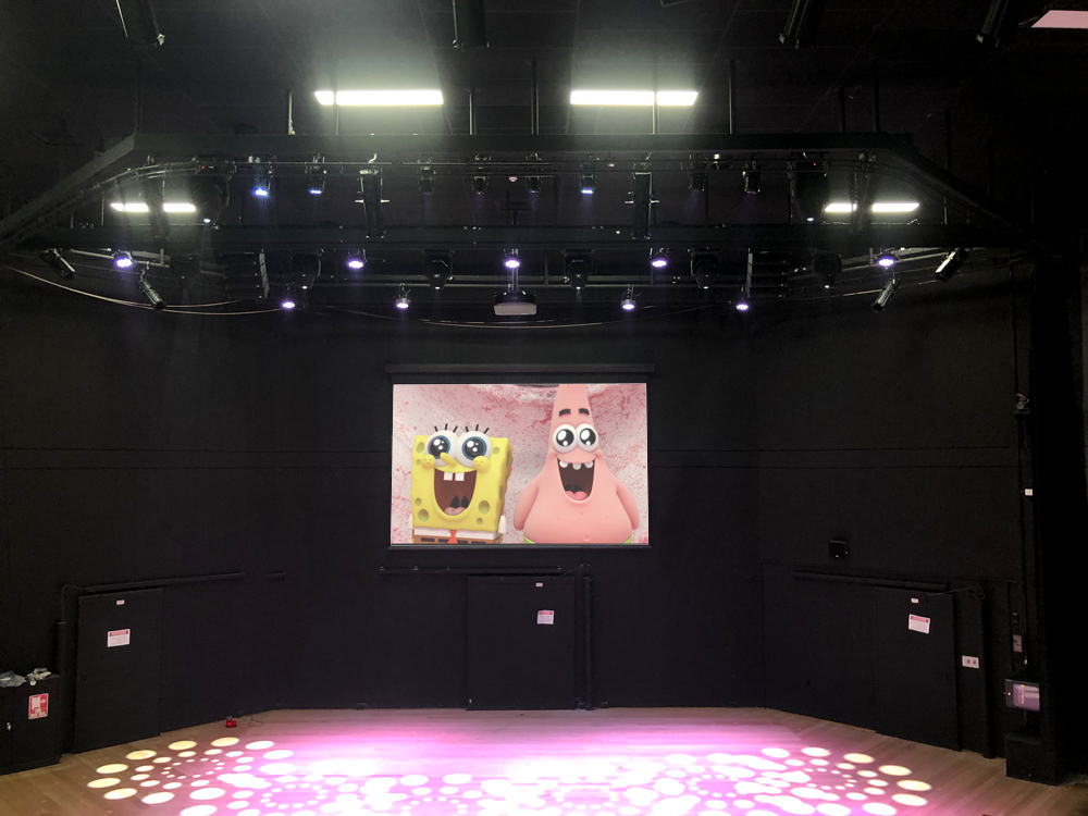 Mount Clear College Theatre Av Installation Melbourne