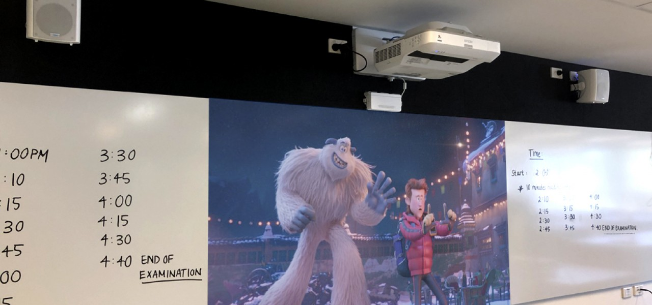Mt Hira Epson Interactive Projectors Melbourne