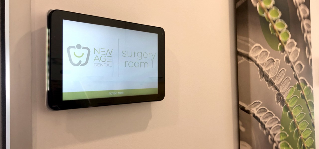 New Age Dental – Digital Sign Boards