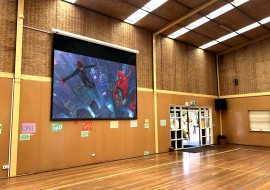 Murrumbeena Primary School – Gymnasium AV Installation