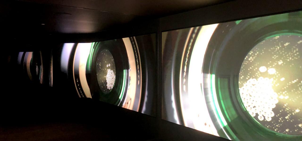 Domaine Chandon – LED Wall, Video Walls, Portrait Digital Signage