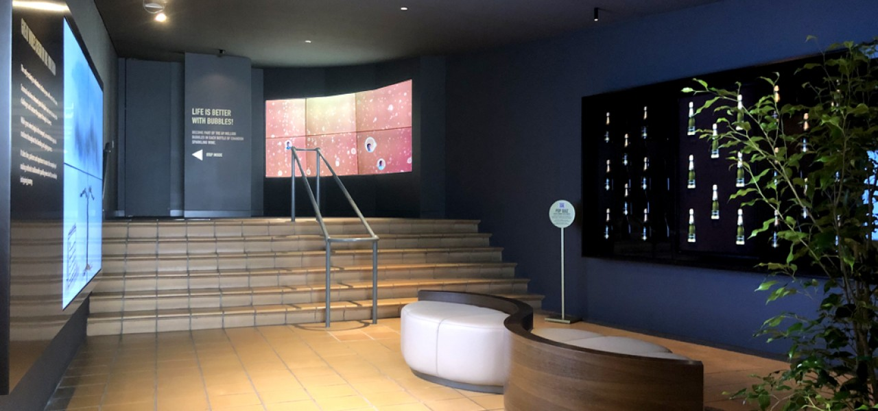 Domaine Chandon Led Wall Video Walls Digital Signage
