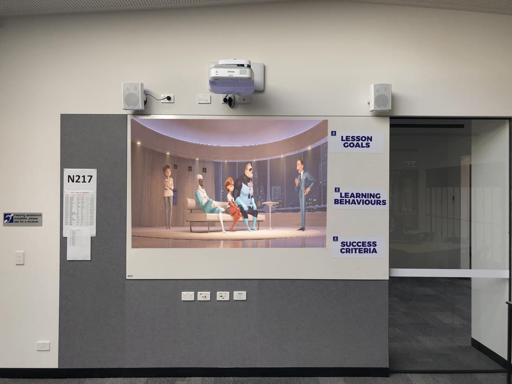 Brighton Secondary College Epson Projectors Melbourne