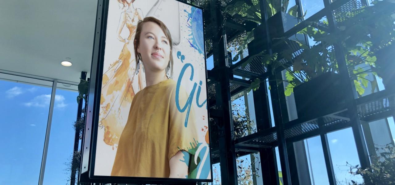 Runway Plaza at Essendon Fields – Digital Signage Display