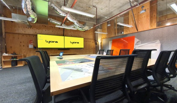Lyons Architecture – The Lyons Studio Refit (Skype for Business Video Conferencing)