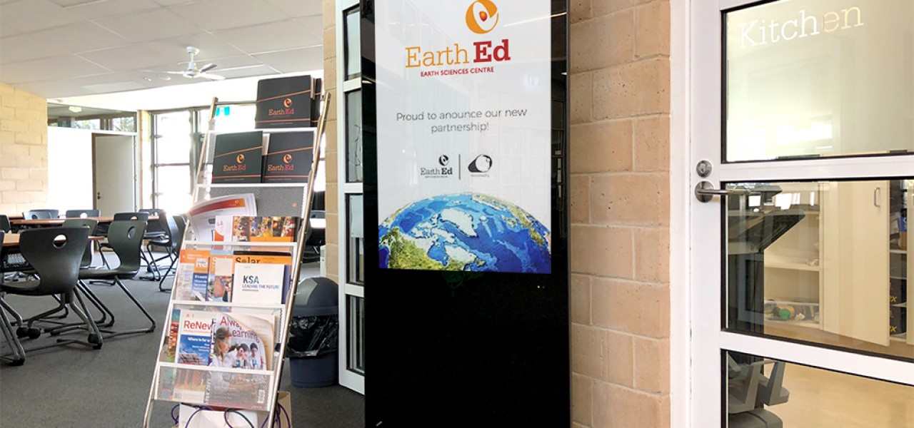 Mount Clear College – Earth Ed Kiosk