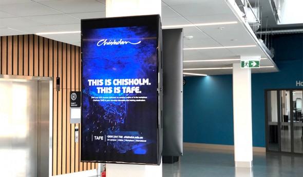 Chisholm Institute – Digital Signage Panels