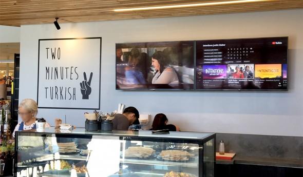 Two Minutes Turkish – Digital Signage Menu Boards