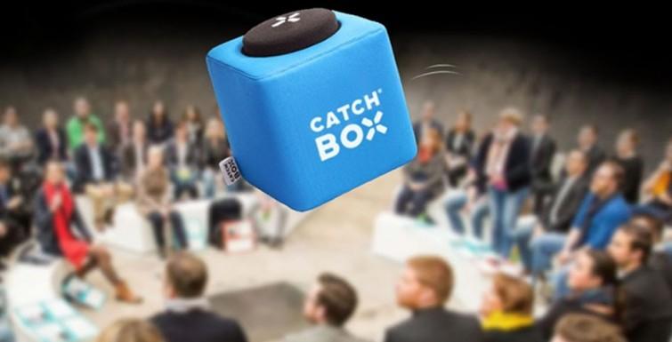 Catchbox – A Fun Microphone Kids Want to Speak Into
