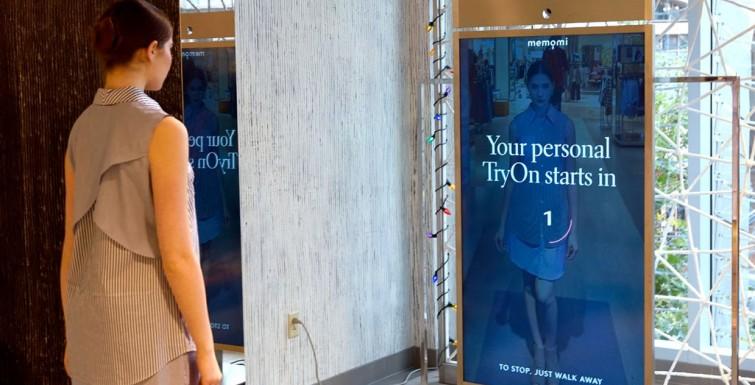 Neiman Marcus tries on digital signage MemoryMirror