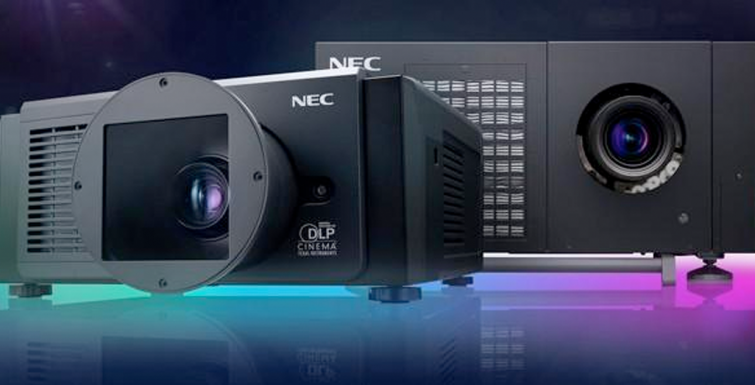NEC introduces new laser projectors for digital signage installs