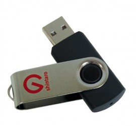 Shintaro Rotating Pocket Disk USB