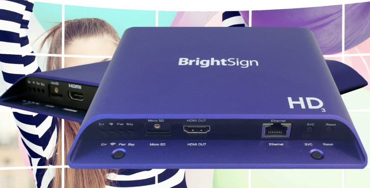 BrightSign Unveils New Media Players