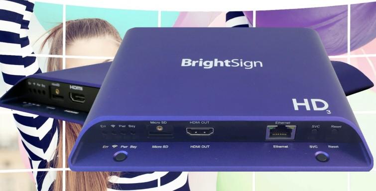 BrightSign Unveils New Media Players