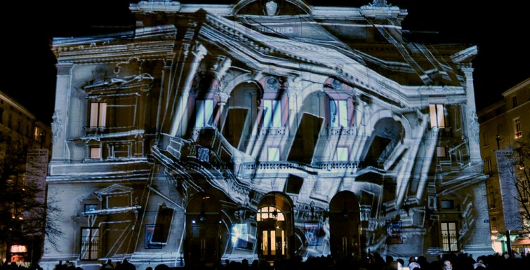 Creative Agency Uses Epson Projectors for Projection Mapping
