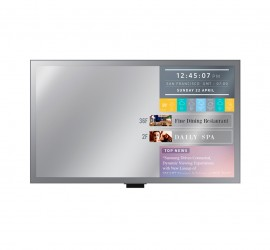 "Samsung ML Series 32""-55"" Direct-Lit LED Mirror Display"