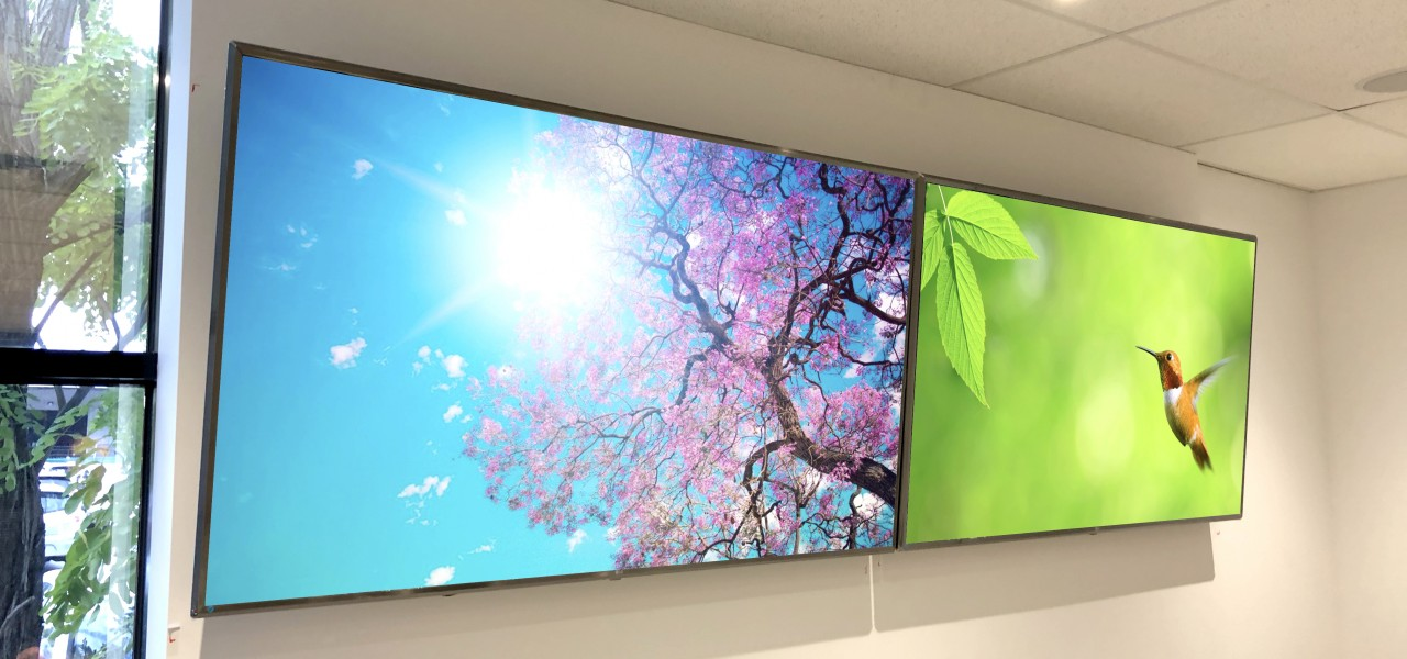 MiTek Boardroom Displays – LG Display Panels