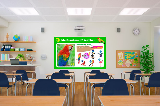 eb 695wi interactive projectors for classrooms