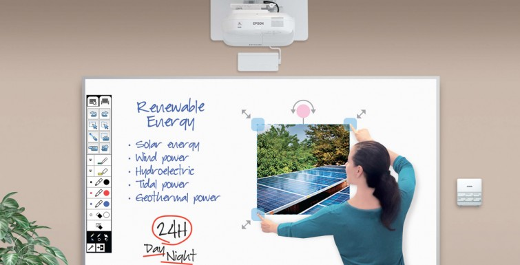Epson Interactive Projectors in Schools and why They're Useful