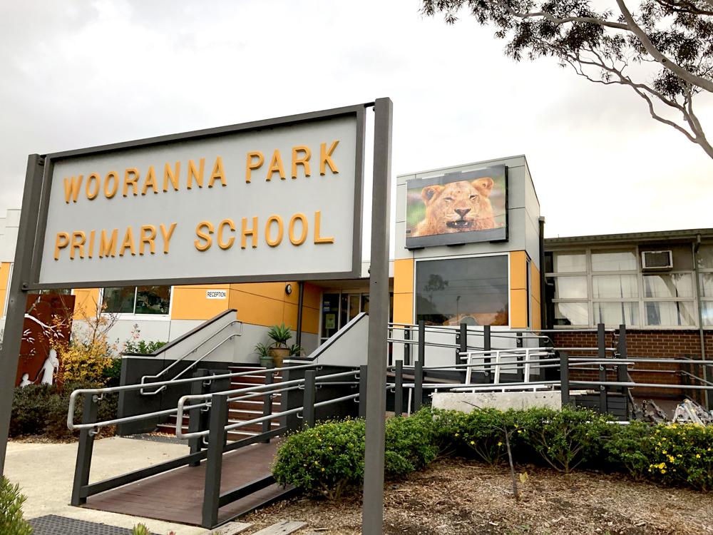 Wooranna Park Primary School Outdoor LED Video Wall Display