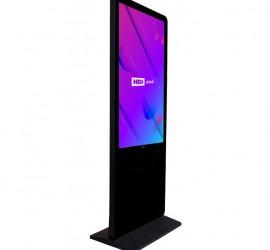 hdi interactive touch screen kiosk portrait melbourne australia