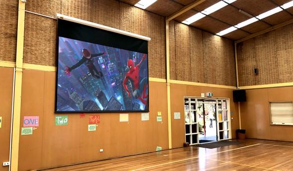 Murrumbeena Primary School – Gymnasium AV Installation