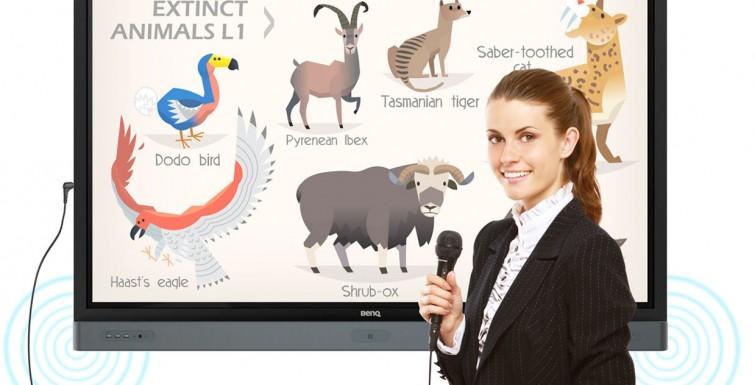 BenQ's Interactive Flat Panel Display Scores TCEA Best of Show Award