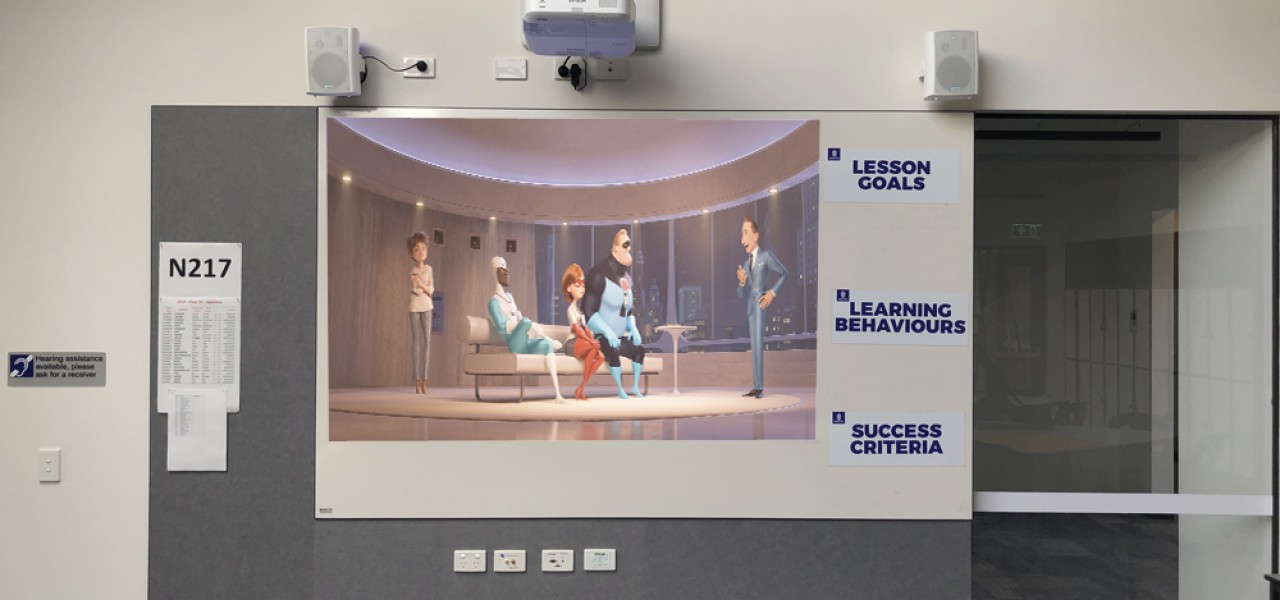 Brighton Secondary College – Epson Projectors