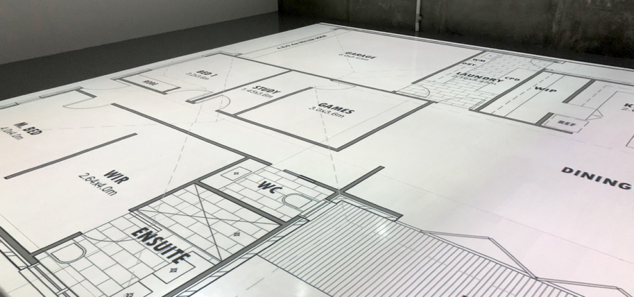 Building Reality – Scaled, Life Size Plans with Floor Projection